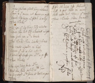 17 century commonplace book journal quotes facts lists