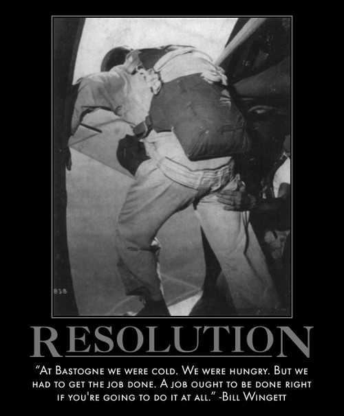 bill wingett bastogne job done right quote motivational poster
