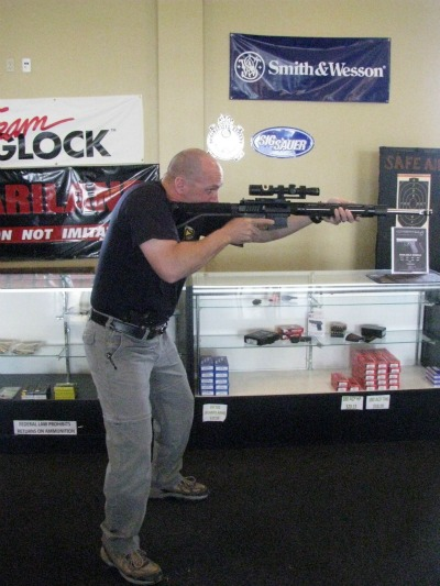 athletic stance shooting how to shoot rifle