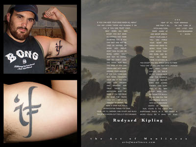 tattoo on bicep if poem rudyard kipling