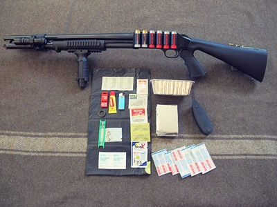 survival shotgun modified zombie apocalypse kit contents