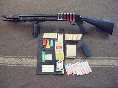 survival shotgun modified zombie apocalypse kit contents