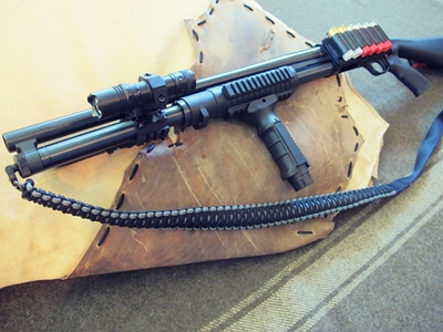 survival shotgun modified zombie apocalypse paracord sling