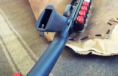 survival shotgun modified zombie apocalypse hollow grip