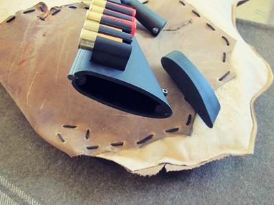 survival shotgun modified zombie apocalypse rubber butt plate