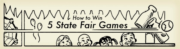 how to win state fair games illustration