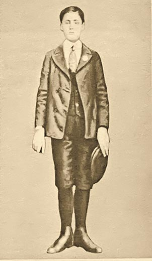 Young Angelo Siciliano portrait.