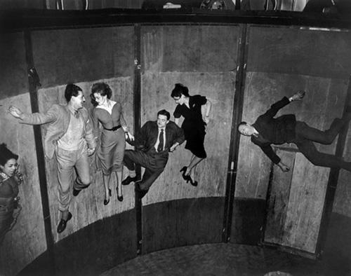 vintage state fair carousel ride people inside spinning