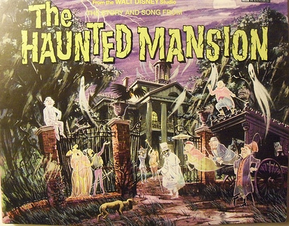 the haunted mansion walt disney album story song