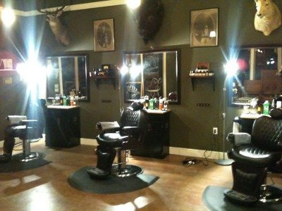 Modern Barber Shop Interior - Best Home Design