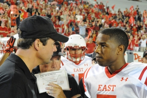 friday night lights coach taylor vince east football