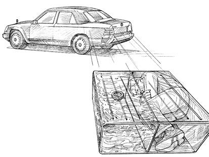 cia automobile car secret compartment smuggling spies