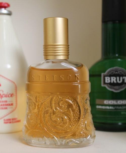 Stetson men's fragrance cologne fancy bottle.