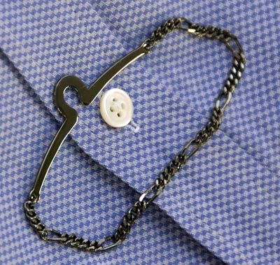 mens tie chain accessory 400 How to: A Man's Guide to Wearing Jewelry how to news