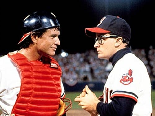 major league movie charlie sheen cleveland indians