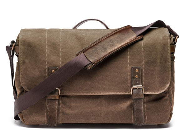 Laptop and camera messenger bag.