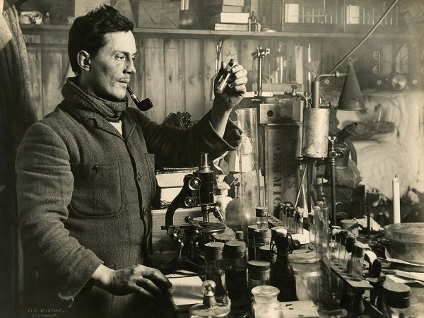 Dr. Edward Atkinson, part of Scott's antarctic scientific team.