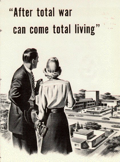 post wwii poster after total war total living