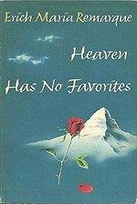 Book cover of Heaven Has No FavoritesbyErich Maria Remarque.