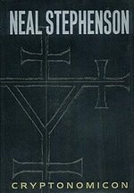 Book cover of CRYPTONOMICON by Neal Stephenson.