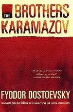 Book cover of The BrothersKaramazovby Fyodor Dostoevsky.