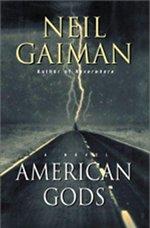 Book cover of American Godsby Neil GAIMAN.