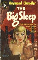 Book cover of The Big Sleepby Raymond Chandler.