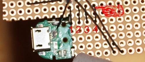 Vintage ground wire green wire attaches to bluetooth speaker terminal.