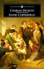 Book cover of David Copperfieldby Charles Dickens.