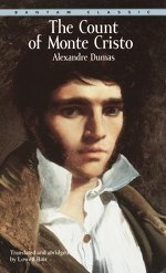 Book cover of The Count of Monte Cristoby Alexandre Dumas.