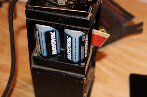 Vintage placing dd's into battery respectable.