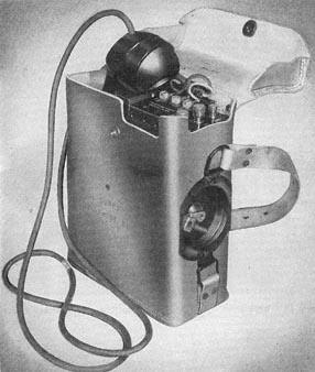 Vintage private telephone black and white illustration.