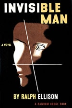 Book cover of Invisible Man by Ralph Ellison.