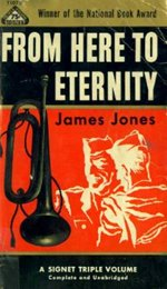 Book cover of From Here to Eternityby James Jones.