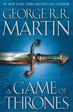 Book cover of A Game of ThronesbyGeorge R.R. Martin.