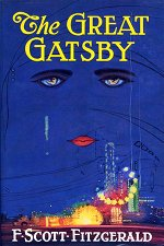 Book cover of The Great Gatsbyby F. Scott Fitzgerald.