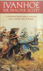 Book cover of Ivanhoeby Sir Walter Scott.