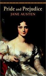 Book cover of Pride and Prejudiceby Jane Austen.