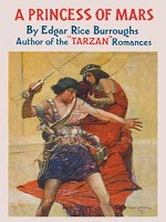 Book cover of  A Princess of Marsby Edgar Rice Burroughs.