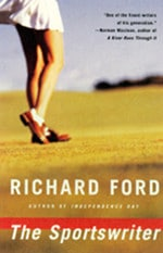 Book cover of The Sportswriterby Richard Ford.
