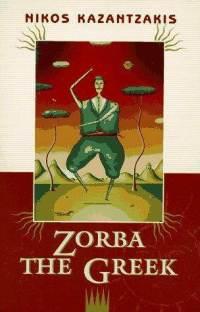 Book cover of Zorba the Greekby Nikos Kazantzakis.