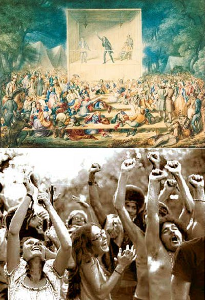 From people enjoying in ancient time to people enjoying in today's time.