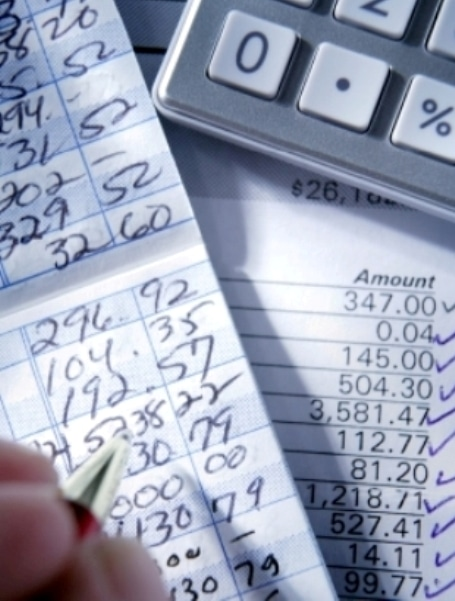 keeping ledger balance for checking account