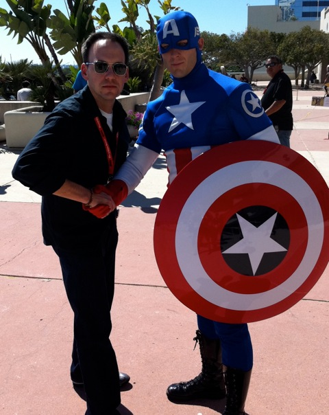 Stephen scaia screenwriter hollywood captain America.