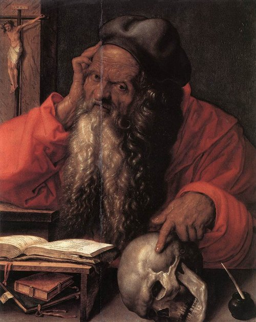 Saint Jerome by Albrecht Dürer, 1521