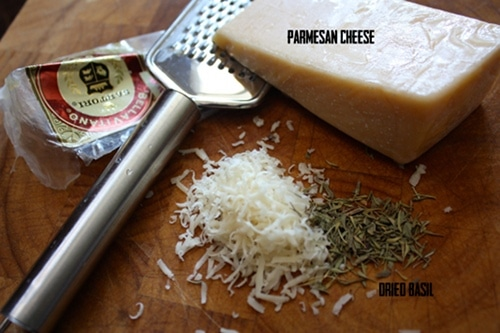 pumpkin seed seasoning blend parmesan cheese dried basil