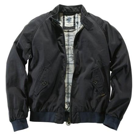 Blouson sports jacket black.