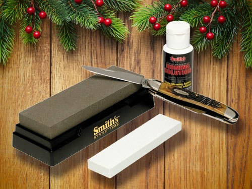 Smith's knife sharpening kit.