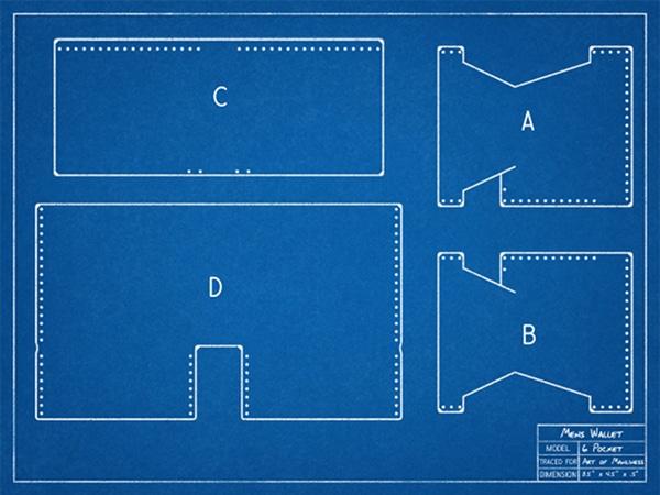 Blueprint for wallet design.
