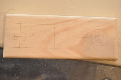 diy wooden cribbage board planning cards and peg holder